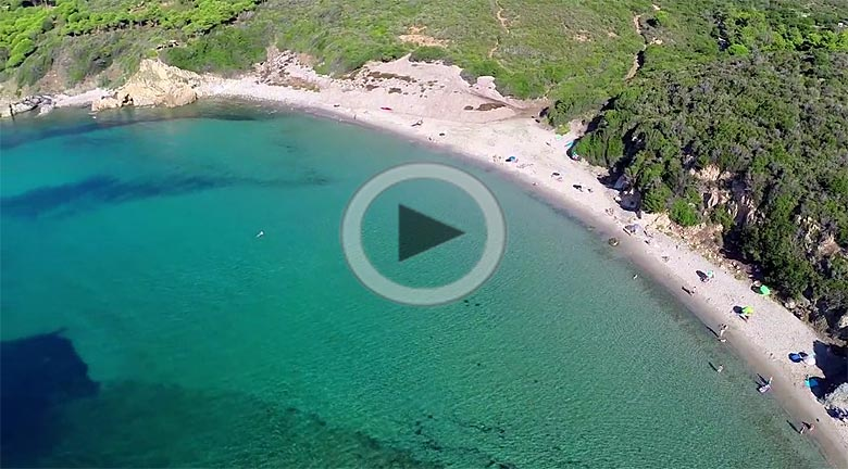 Campsite video in Lacona, Island of Elba